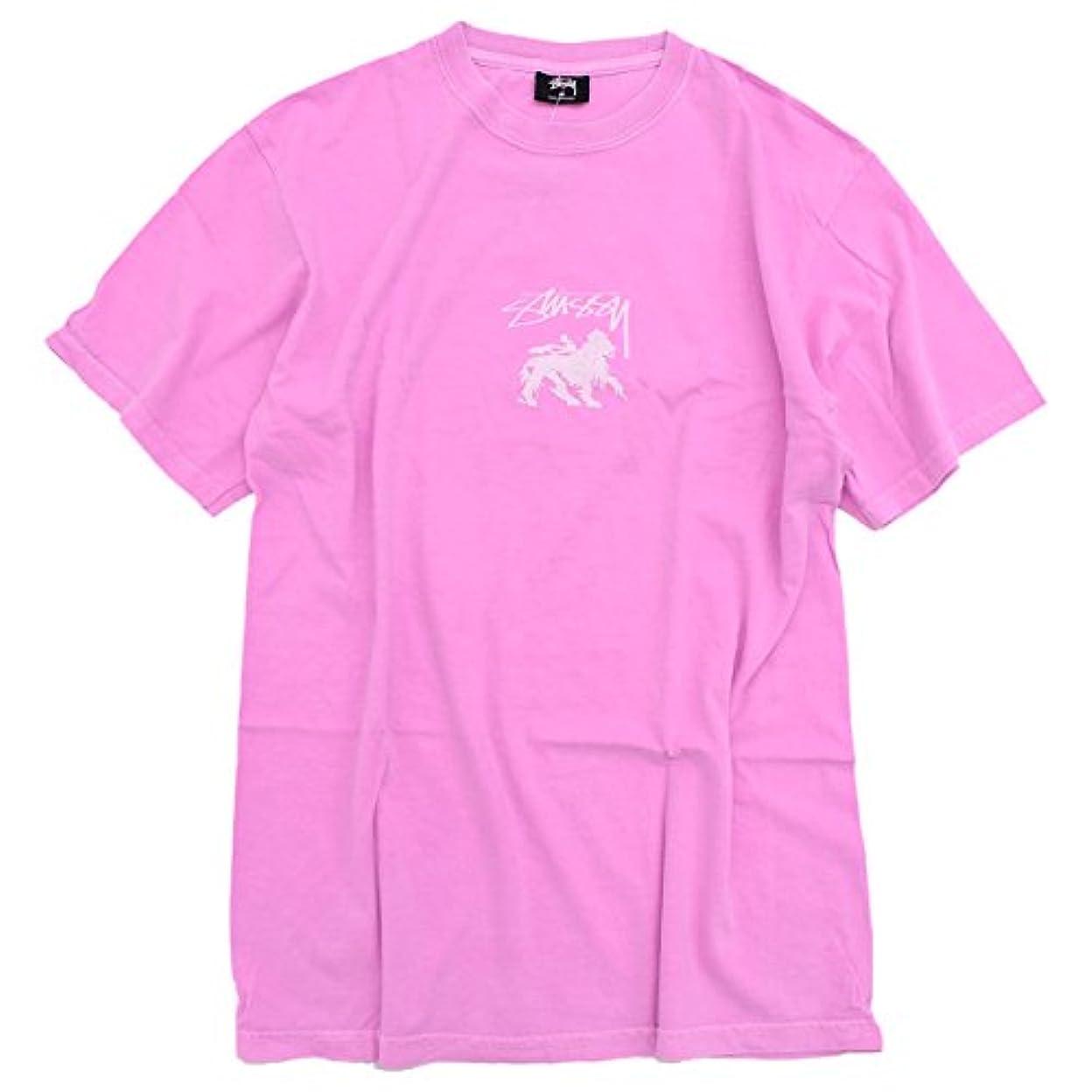 ユーモア無しが欲しい[ステューシー] STUSSY Tシャツ 半袖 メンズ Stock Lion Pigment Dyed [並行輸入品]
