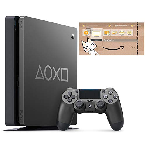 PlayStation 4 Days of Play Limited Edition 1TB (CUH-2200BBZR) 【特典】オリジナルカスタムテーマ 配信