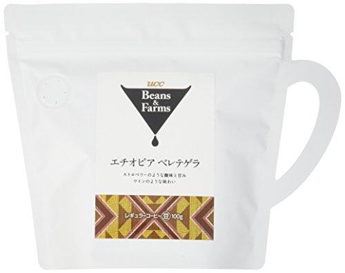 UCC Beans&Farms エチオピア ベレテゲラ(豆) 100g