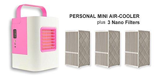 [해외]NEWIDI 더위 대책 미니 에어컨 냉풍 기계 소형 쿨러 선풍기 휴대 탁상 ひえひえ 상쾌한 여름 일사병 더위 대책 여과지있는 AC-01S [병행 수입품]/NEWIDI Mini air cooler Cooler Cooler Cooler Fan Mobile Tabletop Hie Hie Refreshing Summer Heat ...
