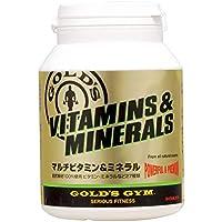 ゴールドジム マルチビタミン&ミネラル180粒