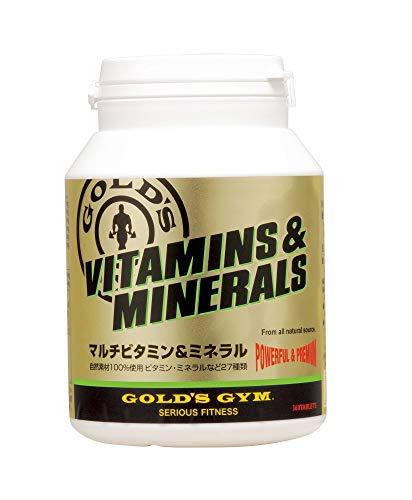 ゴールドジム マルチビタミン&ミネラル180粒...