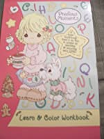 Precious Moments Learn & Colour HOLIDAY Workbook Cocoa & Pup (30 Pages)