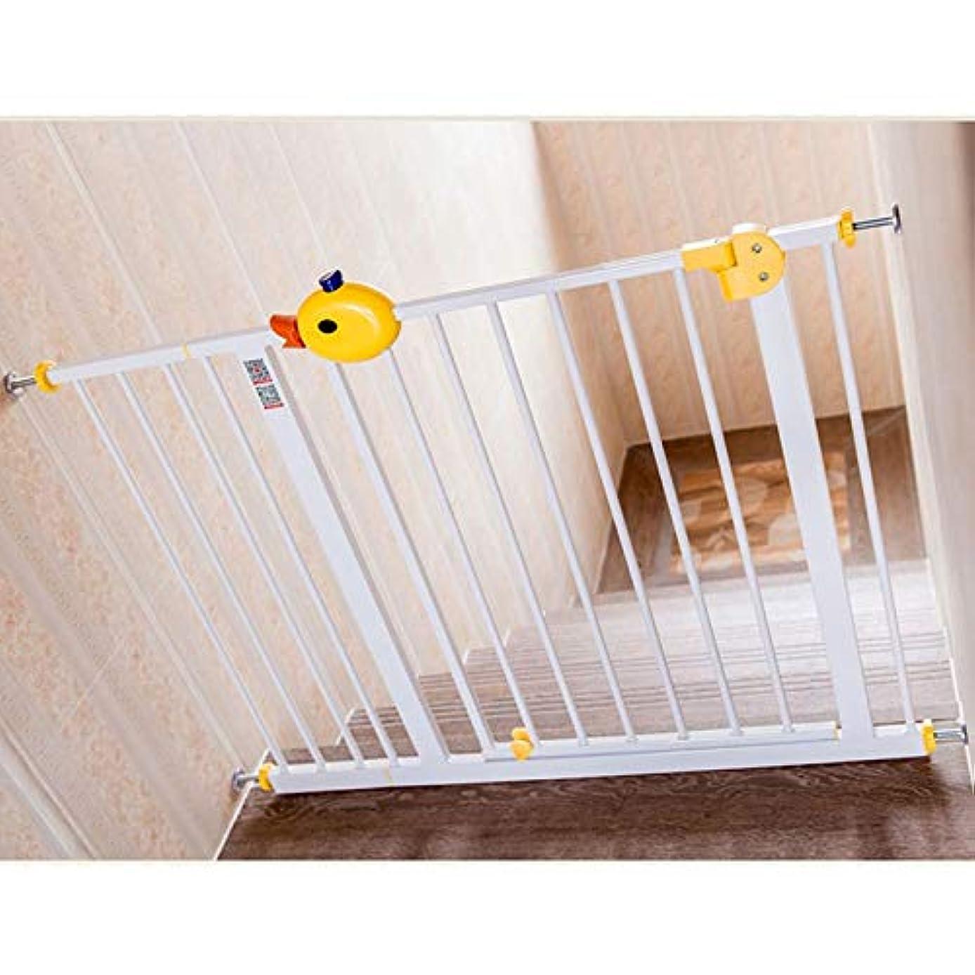 はず翻訳するメロンベビーフェンス 赤ちゃんの安全ゲートエクストラワイドキッズバリアプロテクター圧力定着オートクローズゲート階段 ペットゲート (Size : 225-234cm)