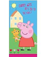 2747 Peppa Pig ペッパピッグ バスタオル ビーチタオル 70㎝x140cm [並行輸入品]