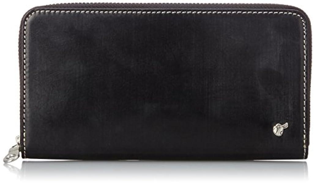 許可意味率直な[ブリティッシュグリーン] BRITISH GREEN 財布 ブライドルレザーラウンドファスナー長札財布