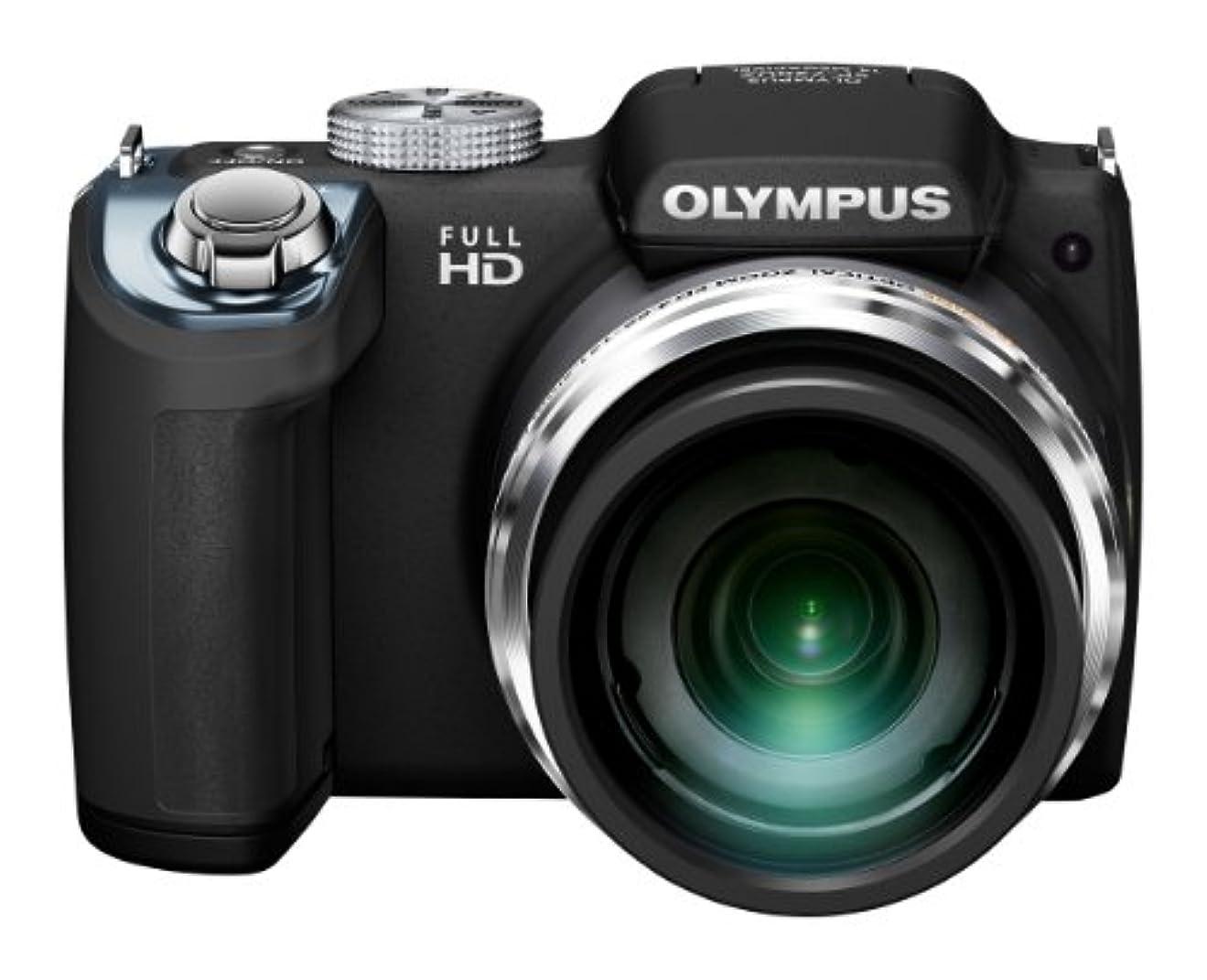 モットー盗賊裂け目OLYMPUS デジタルカメラ SP-720UZ 1400万画素CMOS 光学26倍ズーム 広角26mm ブラック SP-720UZ BLK