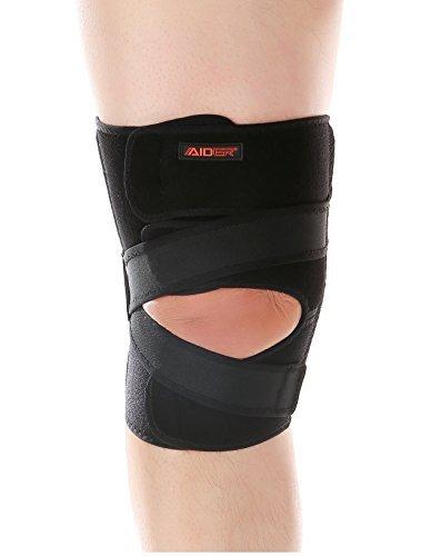 AIDER エイダー 膝サポーター O脚 X脚 用 Knee Support TYPE3 フリーサイズ 右足 [並行輸入品]