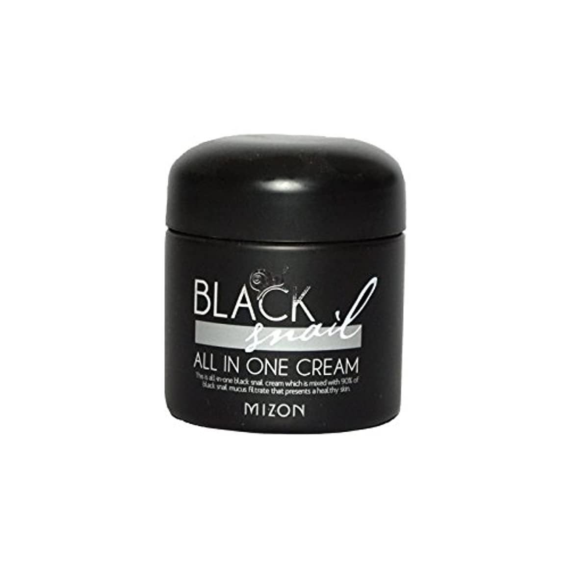 痴漢気づくなる第二にMizon Black Snail All in One Cream - 黒カタツムリオールインワンクリーム [並行輸入品]
