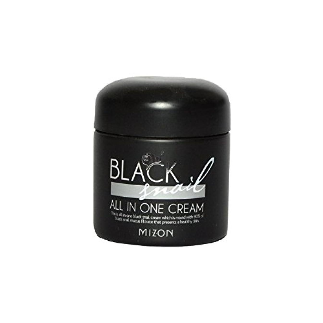 マットパンダとてもMizon Black Snail All in One Cream - 黒カタツムリオールインワンクリーム [並行輸入品]