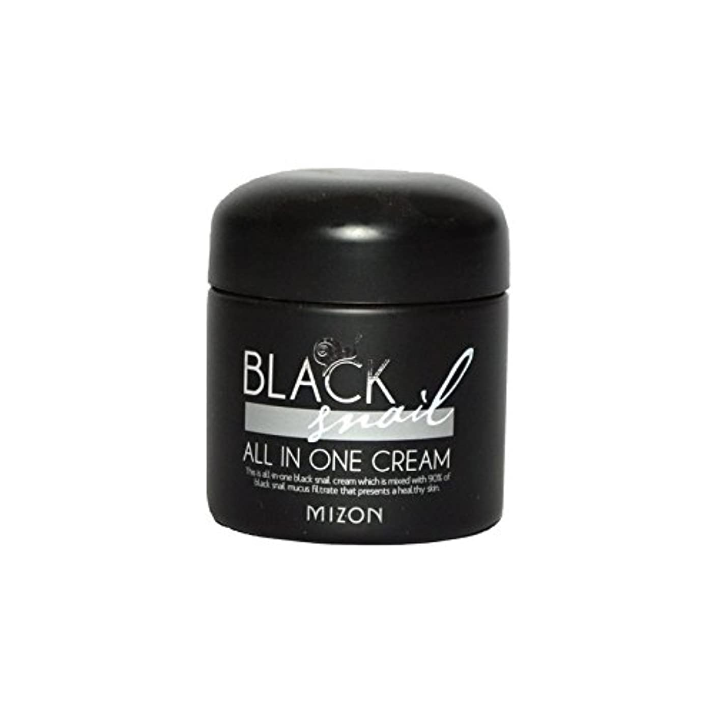 Mizon Black Snail All in One Cream - 黒カタツムリオールインワンクリーム [並行輸入品]