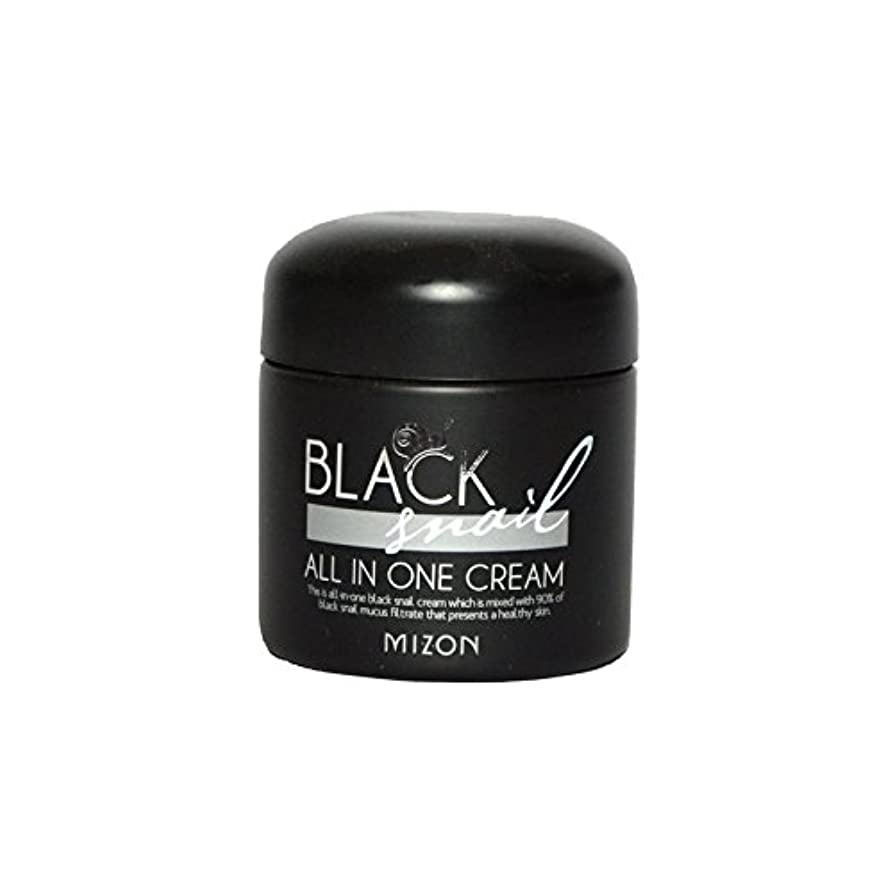 ハーフ引く食物Mizon Black Snail All in One Cream - 黒カタツムリオールインワンクリーム [並行輸入品]