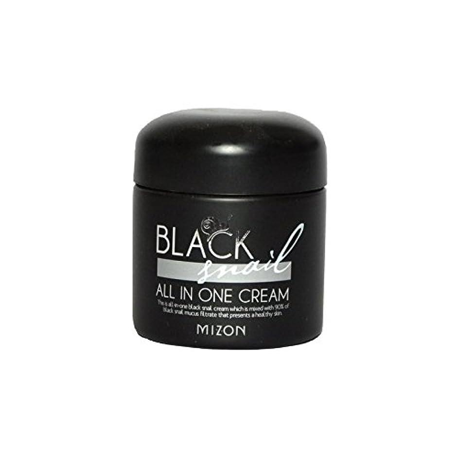 楽しい属する持っているMizon Black Snail All in One Cream - 黒カタツムリオールインワンクリーム [並行輸入品]