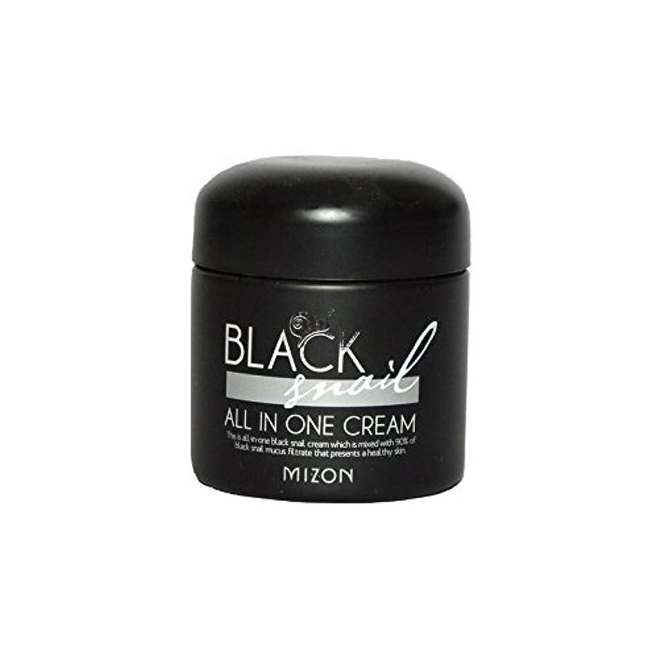 ストレージ球状ぴかぴかMizon Black Snail All in One Cream - 黒カタツムリオールインワンクリーム [並行輸入品]