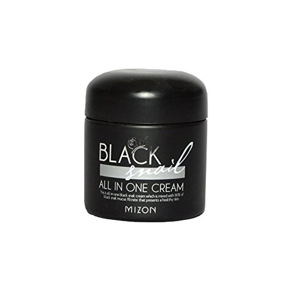 手段算術市の中心部Mizon Black Snail All in One Cream - 黒カタツムリオールインワンクリーム [並行輸入品]