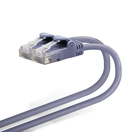 エレコム LANケーブル 3m 爪折れ防止コネクタ やわらか CAT6準拠 ブルー LD-GPY/BU3