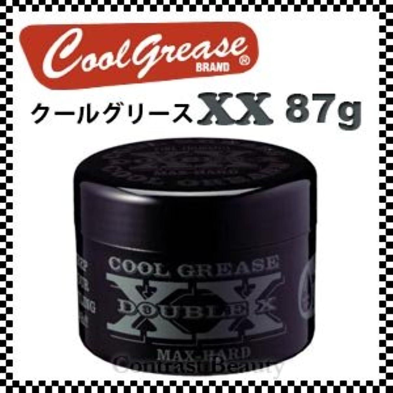 国旗無線ユニークな【X5個セット】 阪本高生堂 クールグリース XX 87g