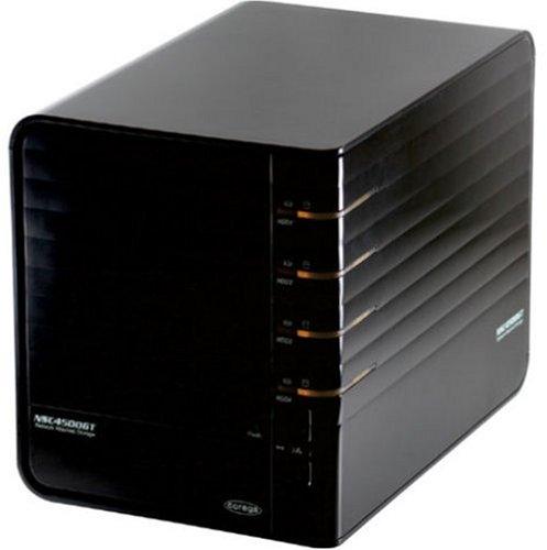 Corega 4BAY RAID対応LAN接続ハードディスクケース「HDD Bank TERA」(NASディスクレスモデル) CG-NSC4500GT