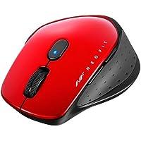 バッファロー BSMBW510MRD 無線 BlueLED 5ボタン ネオフィットマウス M レッド