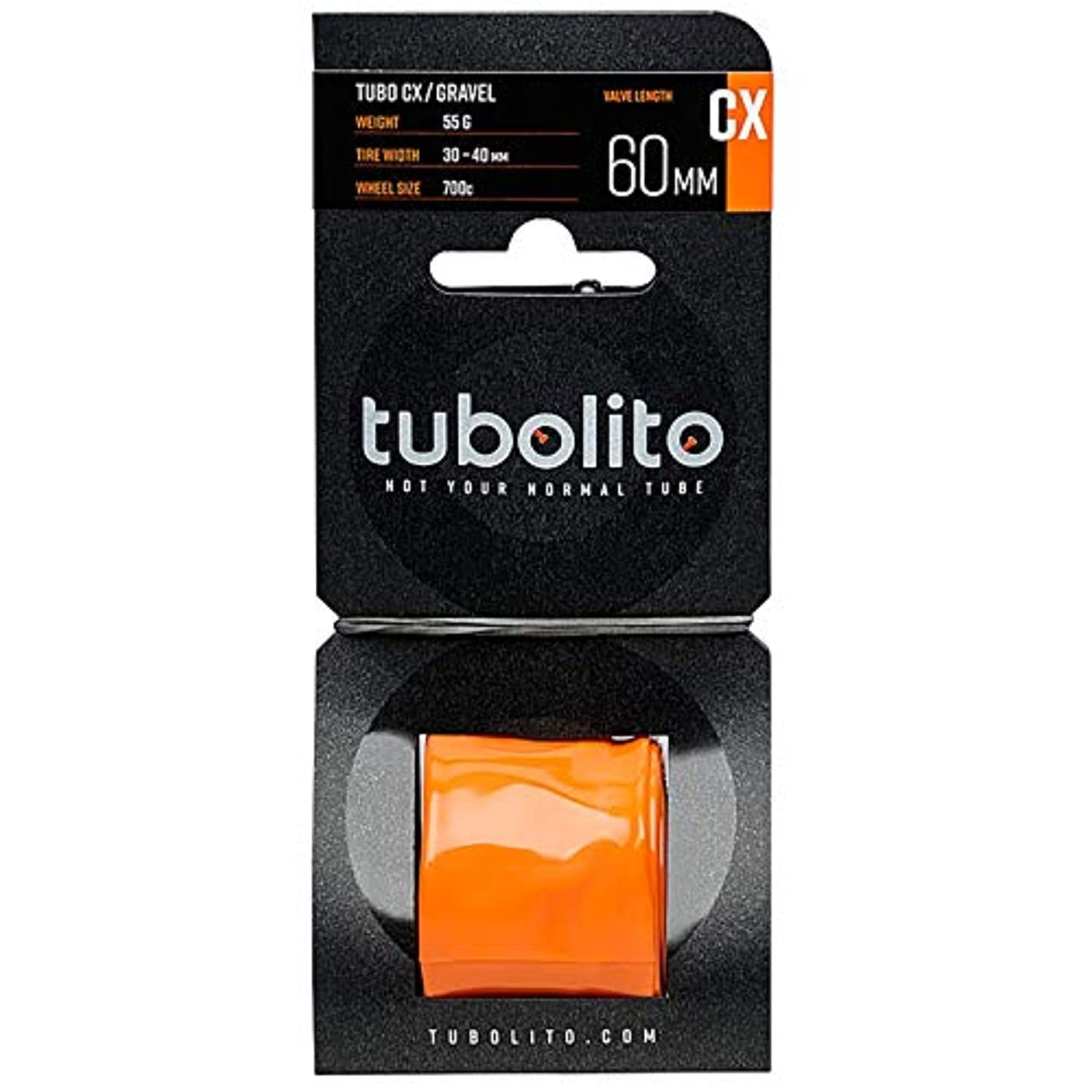 ウイルス言い聞かせる個人的にチューボリート チューボ シクロクロス/グラベル 700C 仏式 チューブ 60mm(TIT14307)