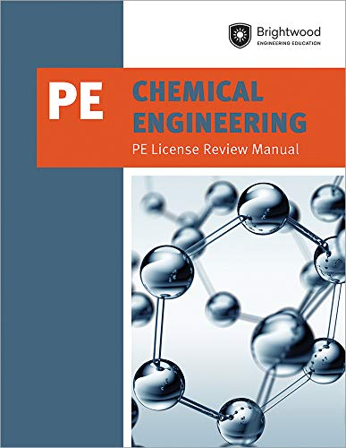 Download Chemical Engineering: Pe License Review Manual 1683380258