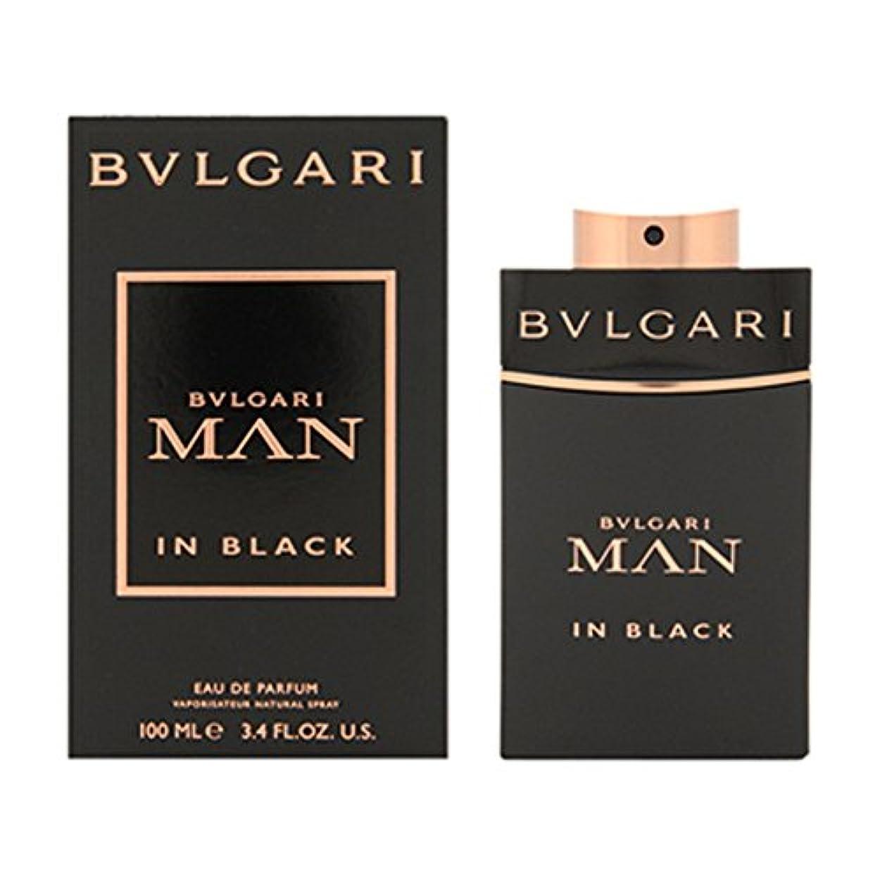スカルク毒性息を切らしてブルガリ BVLGARI ブルガリ マン イン ブラック EDP SP 100ml