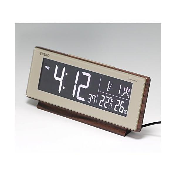 セイコー クロック 目覚まし時計 電波 デジタ...の紹介画像4