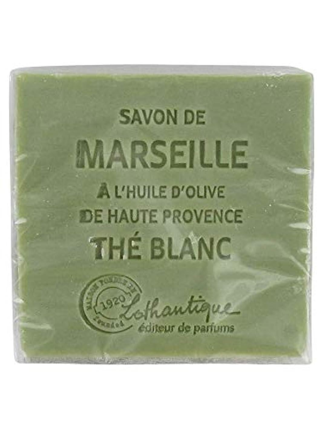 差し引くパーティショントリプルLothantique(ロタンティック) Les savons de Marseille(マルセイユソープ) マルセイユソープ 100g 「ホワイトティー」 3420070038036