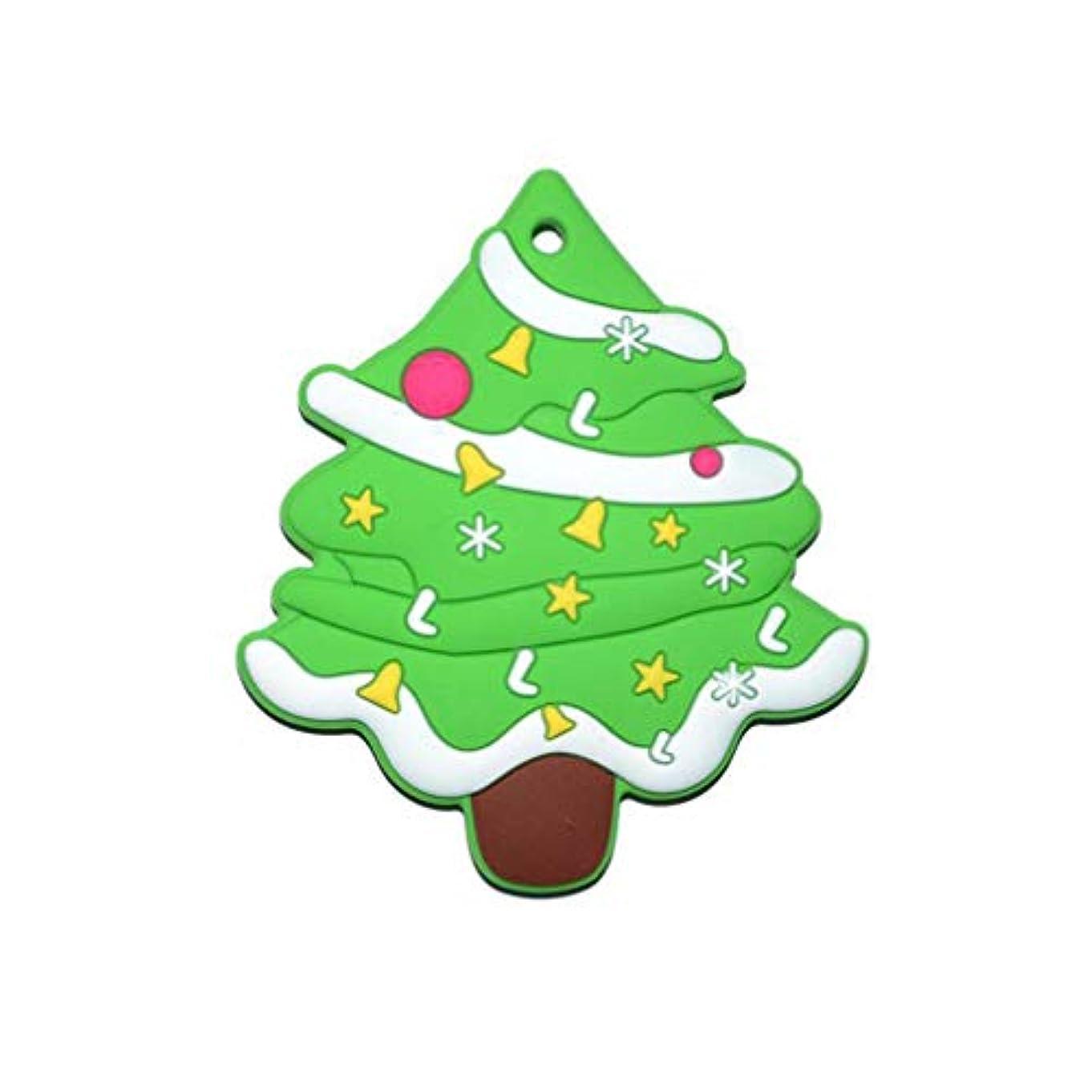 第二にレトルト廃止するHEALLILY シリコーン歯が生えるおもちゃ咀massageマッサージャーおしゃぶりクリスマスツリー形の歯スティック用赤ちゃん幼児幼児
