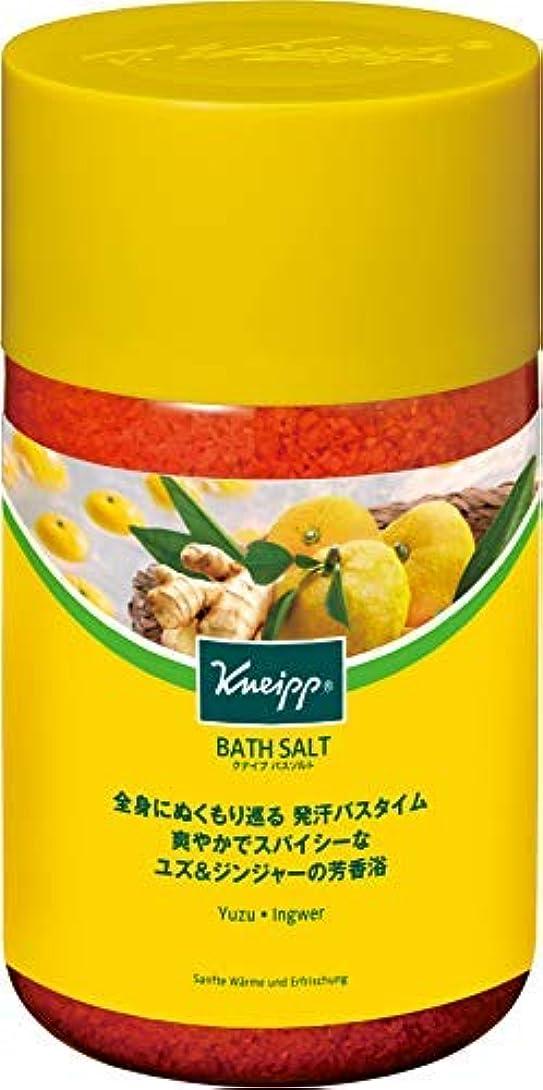 感謝ルーチンジョブクナイプ バスソルト ユズ&ジンジャーの香り 850g 1個 × 5個セット