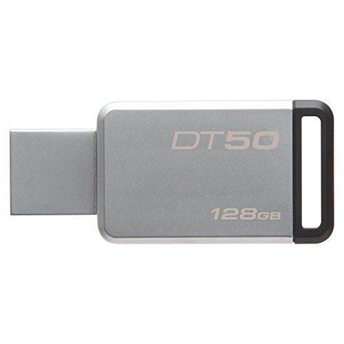 キングストン Kingston USBメモリ 128GB USB3.0 DataTraveler 50 DT50/128GBFR 5年保証