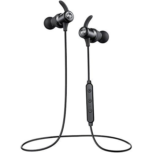 Mpow S6 ブルートゥース イヤホン スポーツ ヘッドホン マグネット搭載 apt-Xコーデック採用 IPX6防水 CSR8645チップ Bluetooth ヘッドセット V4.1 ワイヤレス 人間工学設計 マイク付き ハンズフリー通話 7時間音楽再生 高音質 重低音 SBC/MP3/AAC対応 Iphone/IPad/Ipod/Huawei/Samsung/Sony Xperia各機種対応 18ヶ月間保証