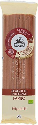 ALCE NERO(アルチェネロ)有機全粒粉スペルト小麦・スパゲッティ 500g