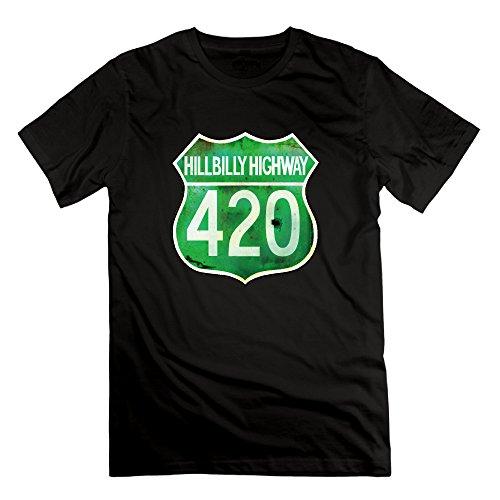 アメリカ文化 420 コード Tシャツ 半袖 メンズ オリジナル XL ブラック
