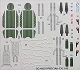 クインタスタジオ 1/48 Yak-130 内装3Dデカール (ズべズダ用) プラモデル用デカール QNTD48007