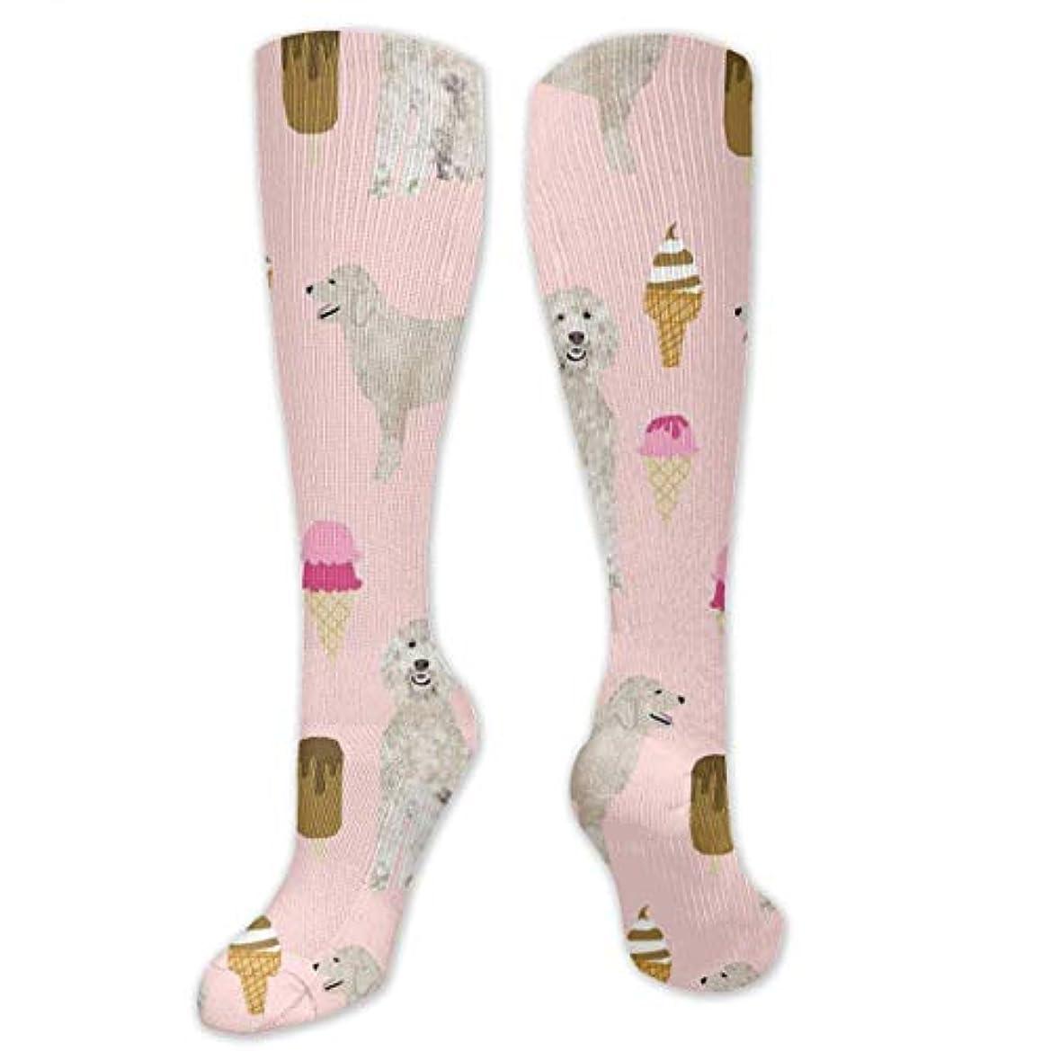アイスクリームワイプ許さない靴下,ストッキング,野生のジョーカー,実際,秋の本質,冬必須,サマーウェア&RBXAA Golden Doodle Ice Cream Socks Women's Winter Cotton Long Tube Socks...