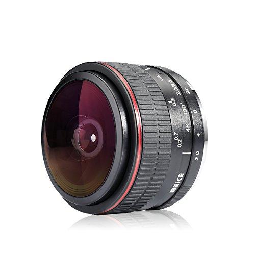 Meike 6.5mm F/2.0 アニュラス 魚眼(MF)レンズfor Sony Emountカメラ【中国製】 (Sony)