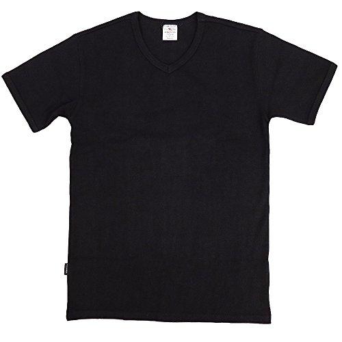 AVIREX デイリー VネックTシャツ #6143501(旧品番#617351)Mブラック