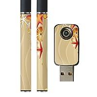 スマコレ プルームテック ploom tech バッテリー スティック 専用スキンシール USB充電器 カバー ケース 保護 フィルム タバコ その他 砂浜 貝 海 001368