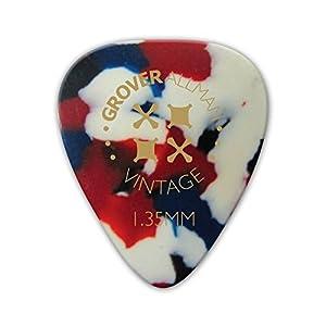 Grover Allman 【グローバーオールマン】 Vintage Celluloid, Confetti, 1.35mm 10枚