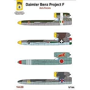 フライモデル 1/144 ダイムラーベンツ プロジェクトF 枢軸国 プラモデル FLX14430