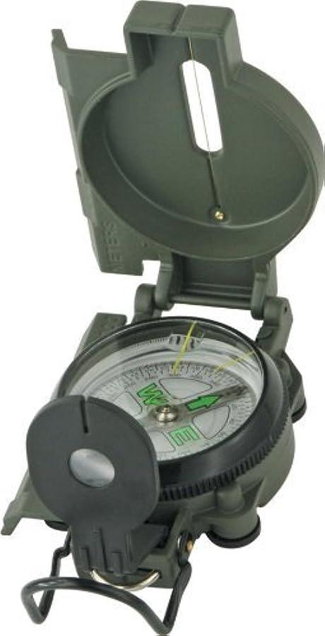 シダずっと故障Explorer Compass 29 White Face Compass with Green Metal Casing by Explorer