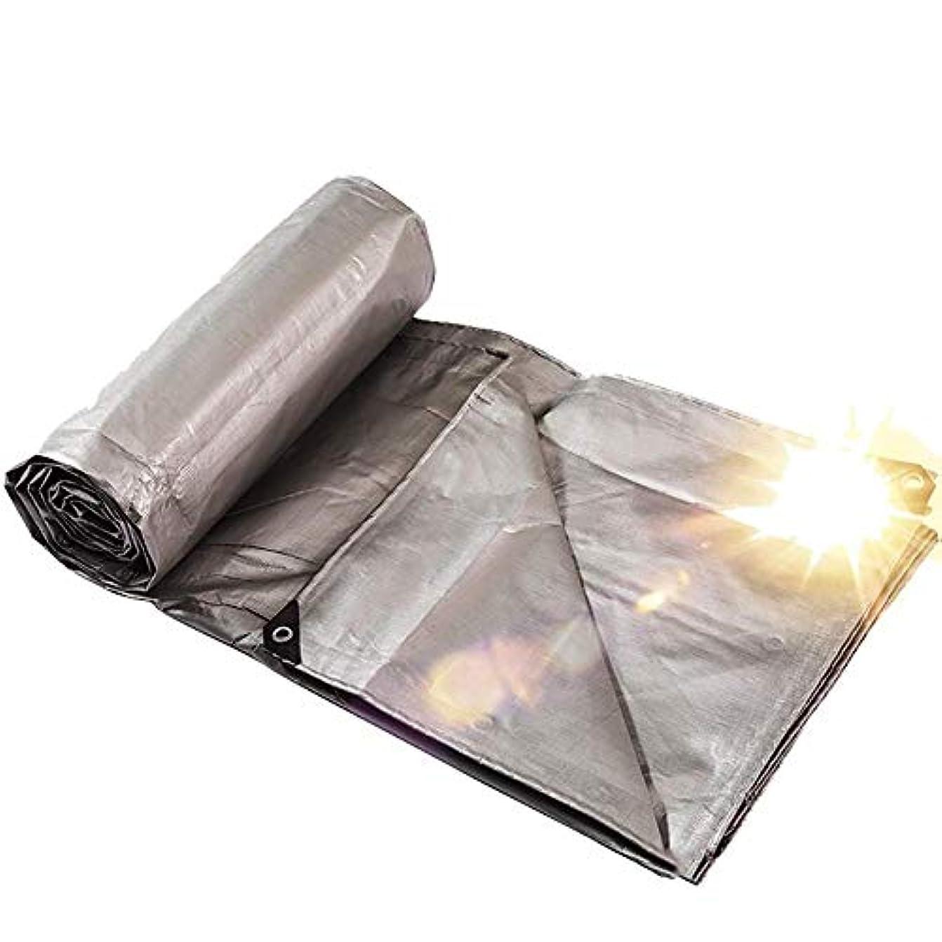 ウェブ混乱させる表面12J-weihuiwangluo 屋外のテント屋外の庭の頑丈な防水防水シートの多機能のポリエチレンの防水シートの防水シート (Color : Thickening, サイズ : 6×8m)