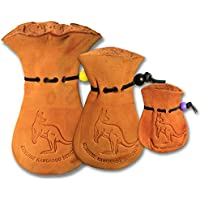 ~oZtrALa~ Kangaroo Scrotum Pouch Jumbo Wallet Real Men's Coin Purse Leather Gift A