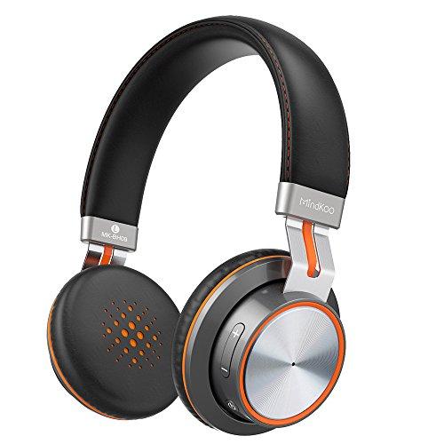 ヘッドホン Bluetooth MindKoo ブルートゥース ヘッドホン 密閉型 HiFi高音質 ステレオサラウンド マイクつき 有線/無線接続iPhone/iPad/iPod/Androidスマホ/Huawei/タブレット/パソコン対応
