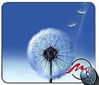ZMviseタンポポ花柄ファッション漫画マウスパッドマットカスタム四角形ゲームマウスパッド