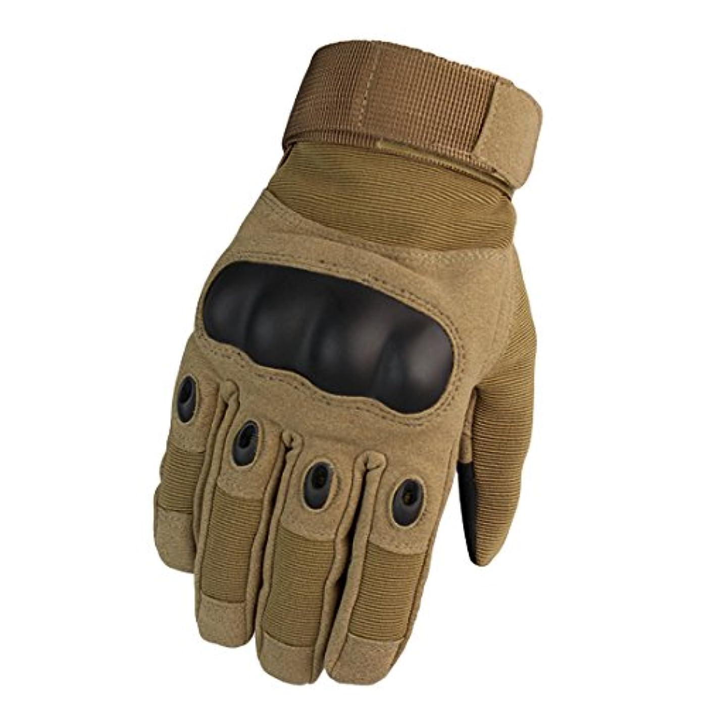 不可能な折る並外れて手保護具 オートバイ 軍隊 完全な指ミトン 軍事装備 手袋