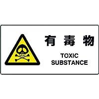 ユニット JIS規格標識 有毒物 818-07B