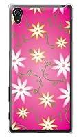 携帯電話taro docomo Xperia Z5 Premium SO-03H ケース カバー (フラワー 7 レッド) SONY SO-03H-MIY-0073