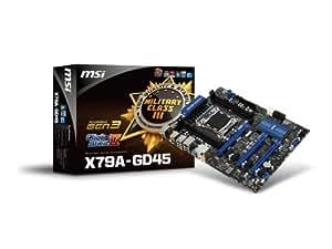 MSI Intel X79チップセット搭載ATXマザーボード X79A-GD45